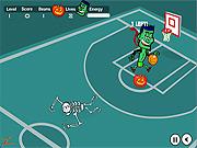 Play Spooky hoops Game