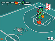 Spooky Hoops game