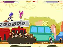 PuppyGirls in Traffic game