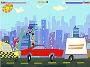 Play Puppygirls in traffic Game
