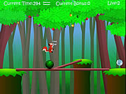Squirrel Balance game