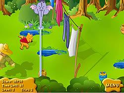 Pooh's Honey Chase game