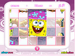 Spongebob Mix-Up game