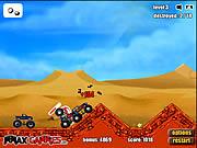 Play Monster trucks attack Game