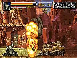Jogar jogo grátis Metal Slug: Death Defense