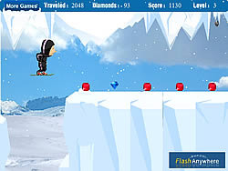 Rancho Ice Adventure game