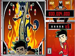 Jake's Inferno Pinball game