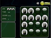Play Ninjas memroy balls Game