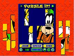 Goofy Puzzle It game