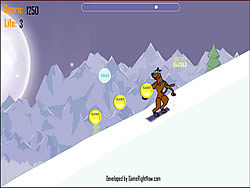 Scooby Doo - Snow Show game