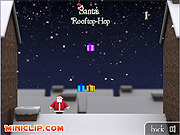 Santa's Rooftop-Hop game