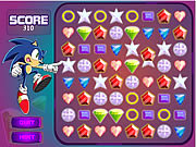 Sonic X Emerald Grab game