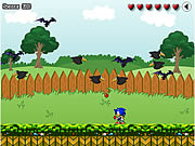 Sonic In Garden game