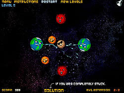 Evil Asteroids game