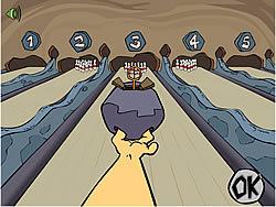 Bedrock Bowling game