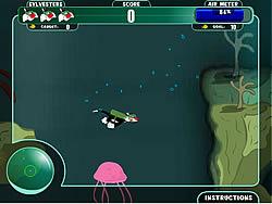 Sylvester Under The Sea game