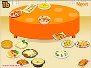 Sort Dinner Table game