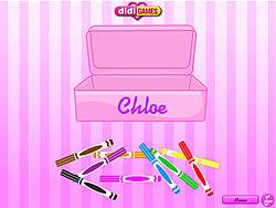 Chloe Clean Up game