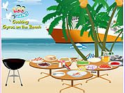 Play Cooking gyros on the beach Game