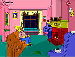 The Simpsons Home Interactive game