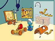 The Smurfs - Handy's Car game