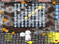 Halloween Word Dig game