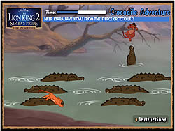 Crocodile Adventure game