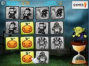Juega al juego gratis Halloween Pairs