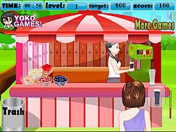 Fruit Juice Shop game