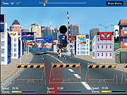 Crazy Racing game