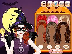 Halloween Make Up Game game