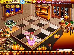 Halloween Cafe game