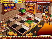 Halloween Cafe game