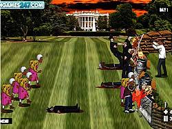 Obama Versus Zombies game