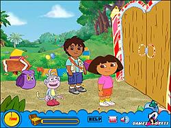 Treasure Hunt - Dora game