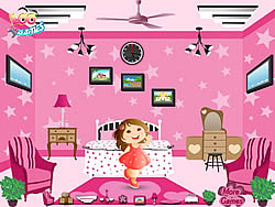 Barbie Pink Room game