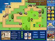 Play One piece tower defense Game