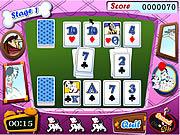 Play 101 dalmatians card battles Game