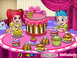 Delicious Cake Dinner Party game