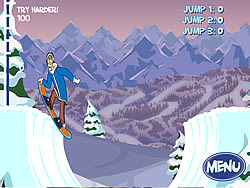 Scoobydoo : Big Air Snow Show game
