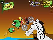 Play Super bike jungle Game