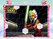 Play Star wars ashoka hexagon puzzle Game