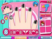 Play Cutie nail salon Game