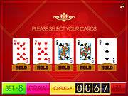 Spiel das Gratis-Spiel  Video Poker