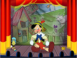 Pinocchio Puppet Theater game