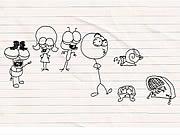 Vea dibujos animados gratis Pencilmation 8