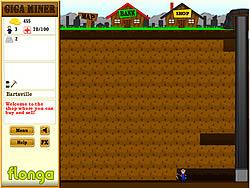Giga Miner game