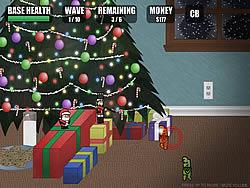 Christmas Defense game