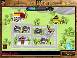 Flame Fighter game