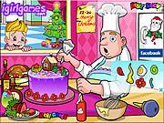 Tantalizing Christmas Cake game